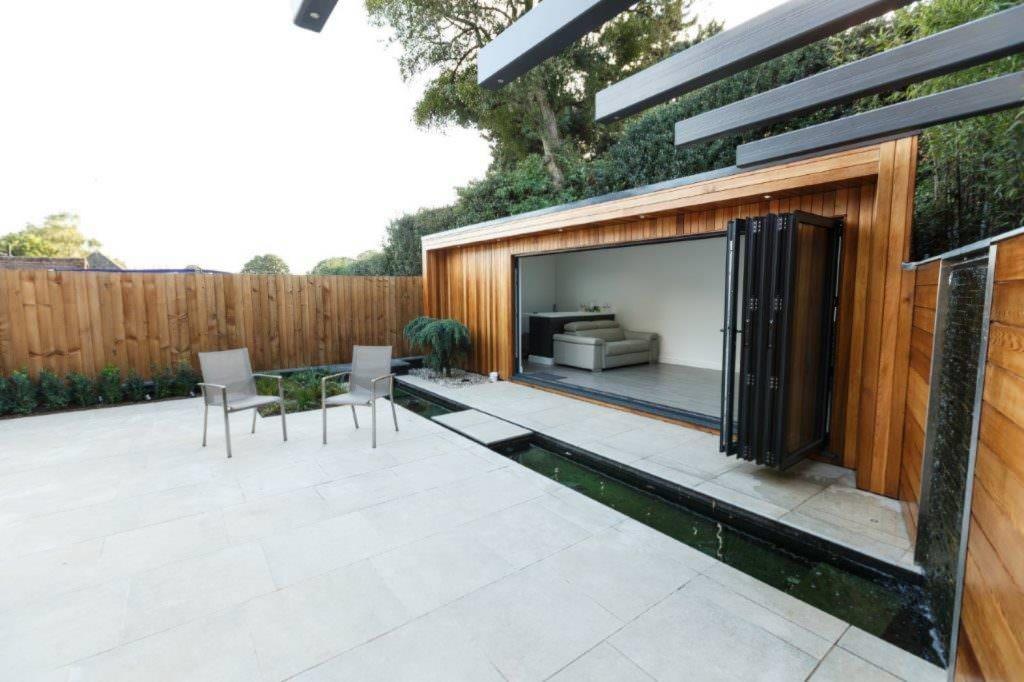 Aluminium Bi-Fold Doors Basingstoke Garden