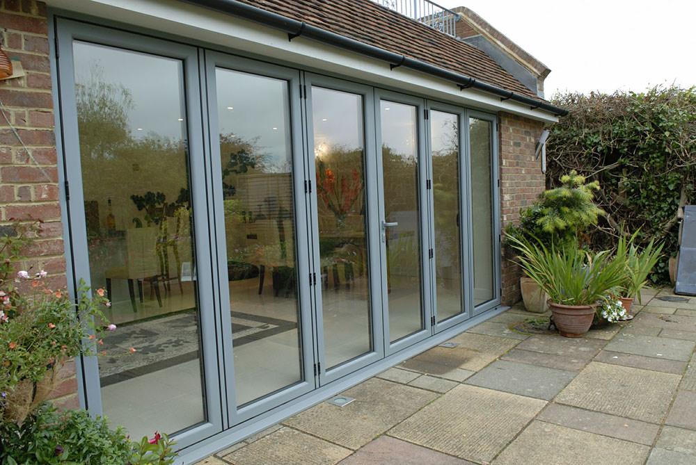 Aluminium Bifold Doors Bletchley Style